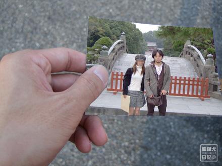 一緒の写真・・・