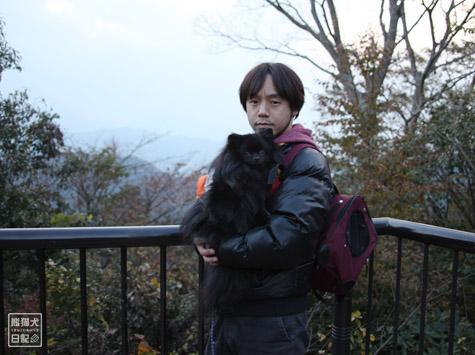 20111208_高尾山の頂上5