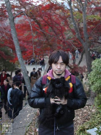 20111208_高尾山の頂上8