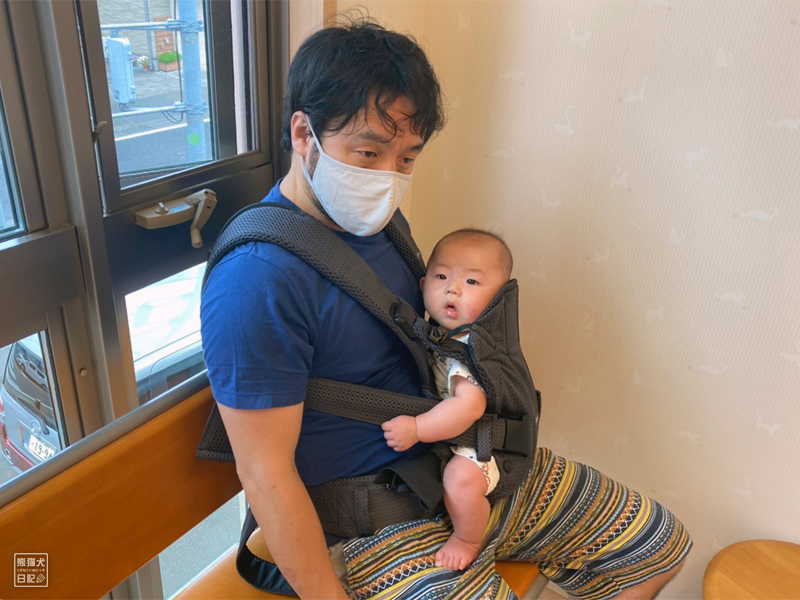 入院中の寿喜との面会